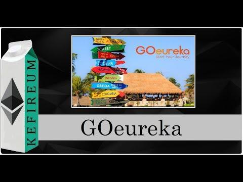GOeureka — Блокчейн-платформа бронирования отелей