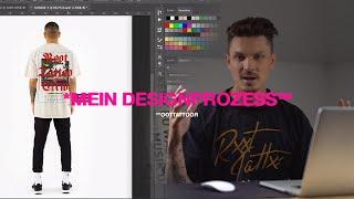 SO BAU ICH MEINE T-SHIRT DESIGNS. Einblick in mein Designprozess.