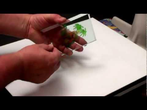 Personalización de Placas de Vidrio con Papel Transfer CPM de TheMagicTouch