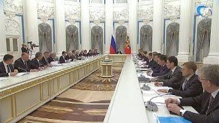 Андрей Никитин принял участие в заседании Совета по стратегическому развитию и приоритетным проектам