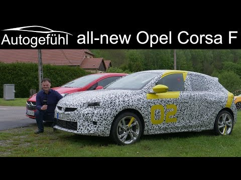 all-new Opel Corsa F first drive PREVIEW  Vauxhall Corsa - Autogefühl