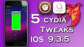 iOS 9.3.5 Cydia Tweaks / 2017