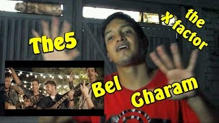 The5 - Bel Gharam (the X factor) MV  K-DF REACTION EN ESPAÑOL (Special)