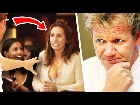 Top 10 Gordon Ramsay's BEST Insults! (Customer)