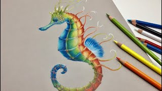 Arteza Expert Colored Pencils-Review- Speed Painting