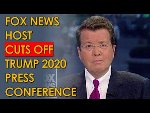 Neil Cavuto CUTS AWAY from Trump Press Secretary Kayleigh McEnany after Election LIES on Fox News