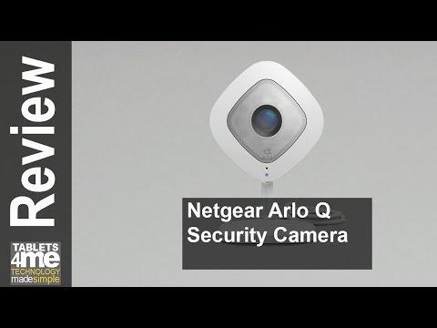 New Netgear Arlo Q - 1080p HD Security Camera with Audio