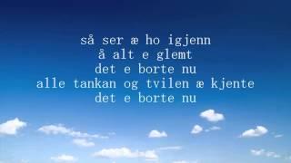 Sondre Justad   Tilbake (Lyrics)