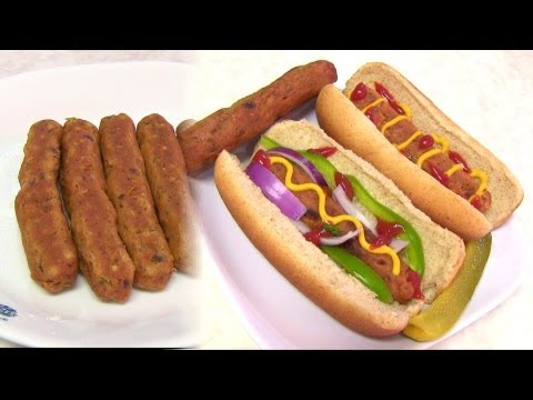 Homemade Vegetarian HOT DOG – Video Recipe – Vegan & Gluten free