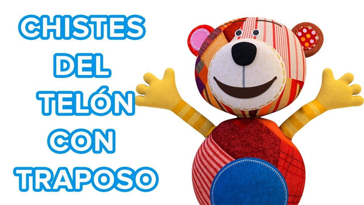 Chistes de se abre el telón con el oso Traposo | Chistes para niños ????