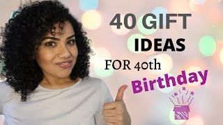 Birthday Gift Ideas, Personalized Gift Ideas, 40 Gift Ideas For 40th Birthday