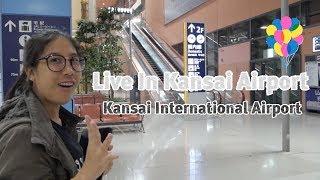 Kansai International Airport ค้างคืนในสนามบินคันไซในญี่ปุ่น By SngbSukh