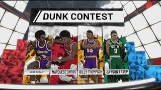 How To Play Slam Dunk Contest in NBA 2K19