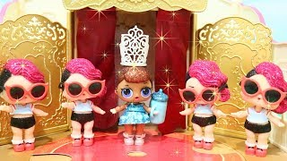 LOL Surprise Glitter Series ! Toys and Dolls Fun Opening Blind Bag Balls | SWTAD