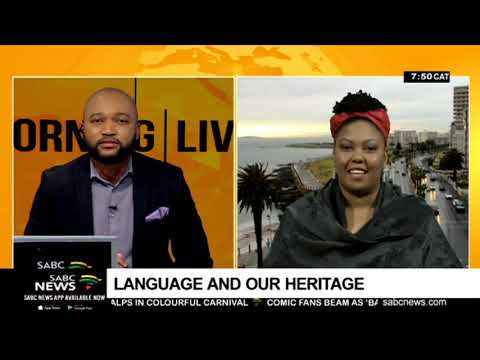 Heritage Day - Language and the role it plays in promoting our heritage