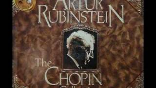 Arthur Rubinstein - Chopin Polonaise in A flat Major, Op 53 -