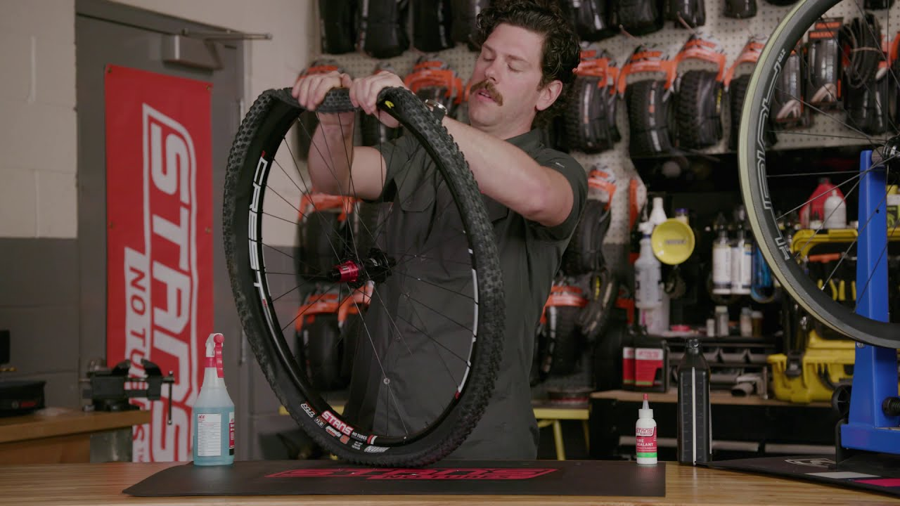 Tubeless Tire Mounting