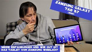 Samsung Galaxy Tab A7 (2020) - Meine Erfahrungen und mein Fazit zum günstigen Samsung Tablet