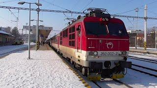 Vlaky - Trenčín (SK) - 29.1.2017