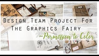 September Design Team Project For The Graphics Fairy - (SOLD) Permission To Color