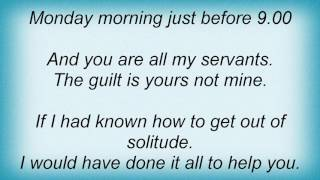 Evergrey - Monday Morning Apocalypse Lyrics