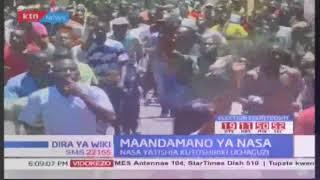 Visa vya uporaji kaunti ya Kisumu wakati wa maandamano ya wafuasi wa NASA