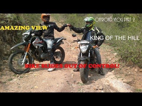 BIKE SLIDES OUT OF CONTROL | ALMOST FALLS OFF THE CLIFF | CLOSE CALL | OFFROADING INSANITY PART 2 |
