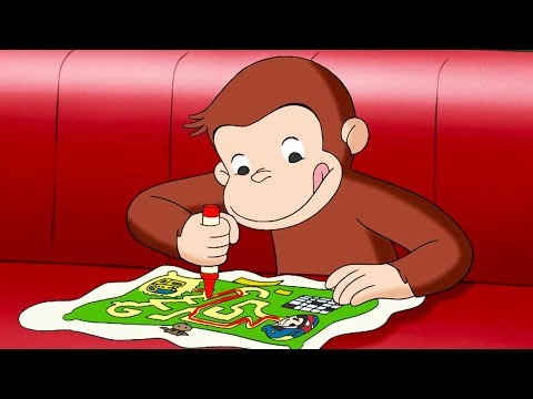 Curious George 🐵The Amazing Maze Race 🐵Kids Cartoon 🐵 Kids Movies 🐵Videos for Kids