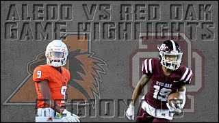Red Oak vs Aledo - 2019 Texas High School Football Playoffs Week 3 Highlights