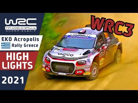 WRC3 2021 ラリー・ギリシャ Day3ハイライト動画
