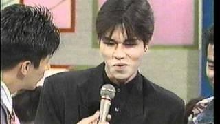 23年前!森脇健児×山田雅人×一也当時アジャ18歳!テレビ初登場
