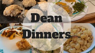#whatsfordinner || Dean Dinners || Cook With Me || Fall Break