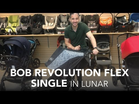 BOB Revolution Flex Single Stroller 2017 in Lunar | Reviews | Ratings | Prices | Comparisons