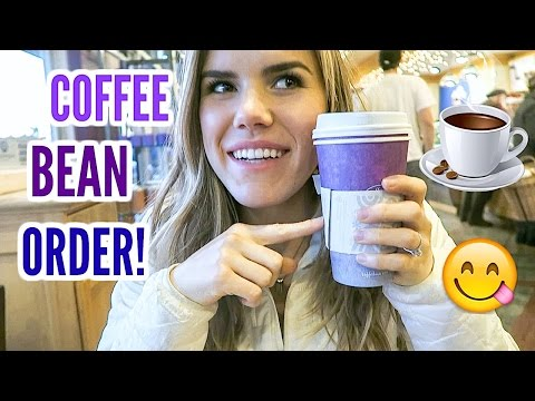 WHAT I ORDER AT COFFEE BEAN! Vlogmas Day 18!