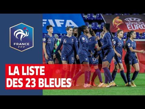 , title : 'Equipe de France Féminine : la liste des Bleues I FFF 2020'