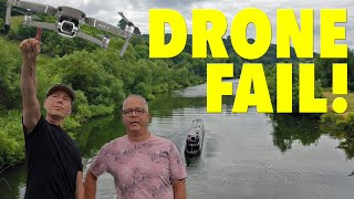 Drone Fail! Our Mavic 2 Pro Crashes! Lost Forever!