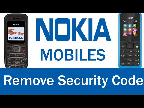 how to unlock free any nokia mobile security code