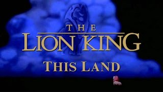 The Lion King - Hans Zimmer - This Land