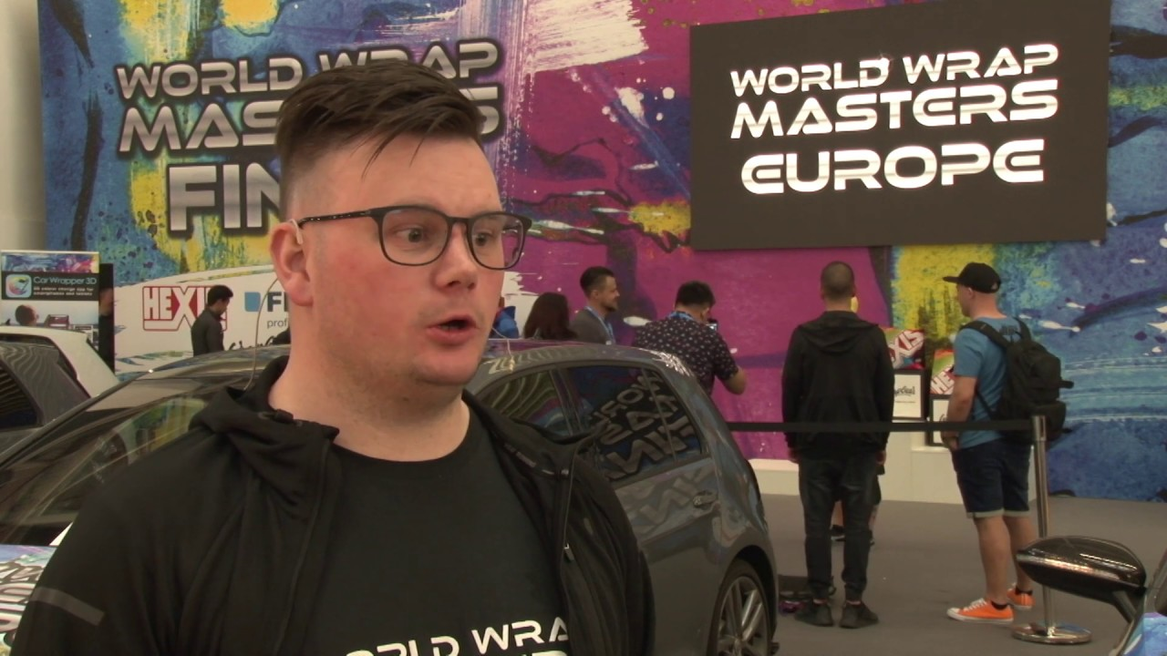 Casper Madsen, CWRA92/Colors from Denmark was crowned the winner of the World Wrap Masters Europe 2019, FESPA TV catches up with him after his victory.