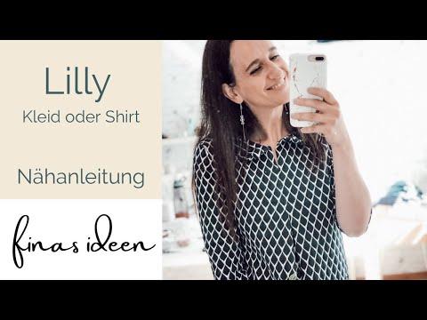 Lilly- Kleid oder Shirt nähen (perfekt für Anfänger)