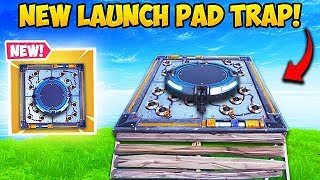 *NEW* SUPER OP LAUNCH PAD TRAP! - Fortnite Funny Fails and WTF Moments! #506