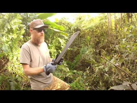 Military Survival Machete: Ontario 18″ Machete Review And Jungle Test
