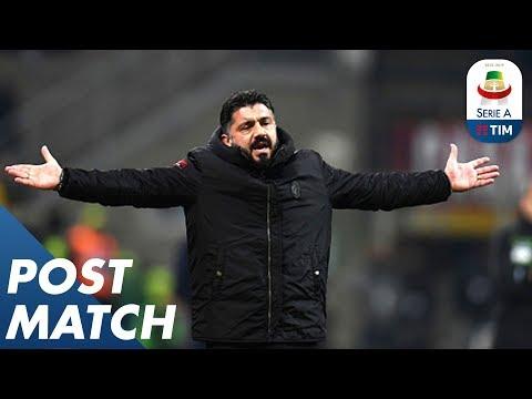 Milan 0-0 Napoli   Ancelotti & Gattuso Post Match Press Conferences   Serie A