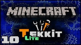 Minecraft: Tekkit Lite With Lewis   Wrath Lamps, Item Tesseract And Giant Quarry! #10
