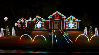 2014 Johnson Family Dubstep Christmas Light Show - Featured on ABC's The Great Christmas Light Fight