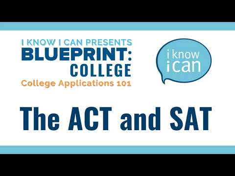 The ACT and SAT