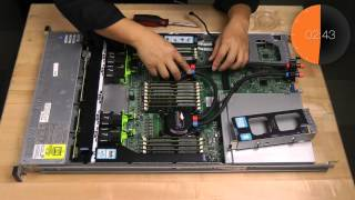 Timelapse: Installing Asetek Liquid Cooling Inside Cisco 220 Server