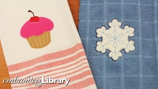 Machine Embroidery Heirloom Applique