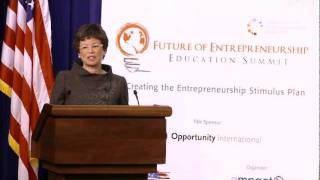 Valerie Jarrett, Senior Advisor to President Obama, Speaks at the Empact100 Awards Ceremony