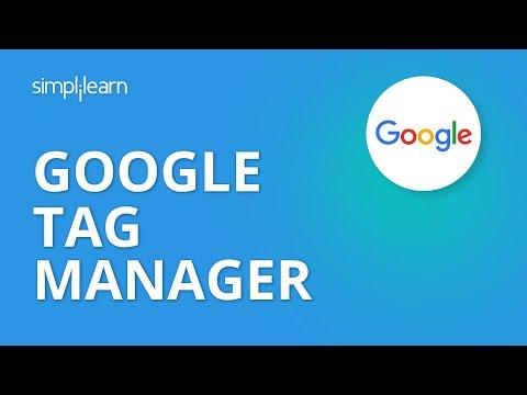 Google Tag Manager Setup   Simplilearn - YouTube